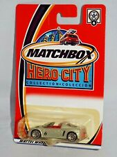 Matchbox Hero City 2003 Family Wheels Series #6 Opel Speedster Silver