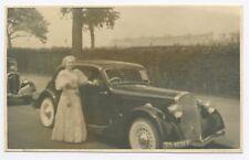 D465 Carte Photo vintage card RPPC Voiture Car Rolls-Royce