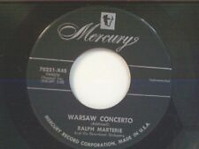 "RALPH MARTERIE ""WARSAW CONCERTO / LAZY RIVER"" 45 MINT"