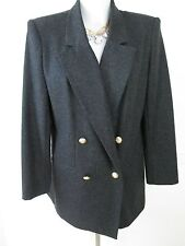 Vtg Dark Gray Sag Harbor Jacket Excellent Condition Size 10