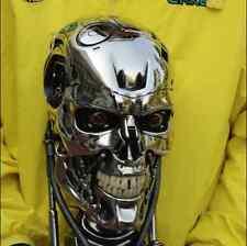 T800 Terminator skull model 1: 1 Terminator bust Standard plating final version