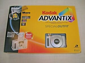 IN BOX Kodak Camera Advantix T550 Kit W/ Film Organizer Battery Bag 918 8509 NEW