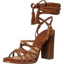 MICHAEL KORS COLLECTION-Rowan-Luggage-Sport Suede Sandal-SIZE 7.5-NEW!