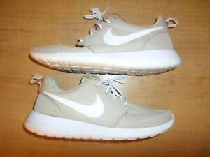 Nike Roshe One Sand White 511881-204 Men's Size 8.5 Running Shoes- Fast Shipping