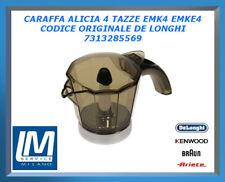 CARAFFA ALICIA 4 TAZZE EMK4 EMKE4 7313285569 DE LONGHI ORIGINALE