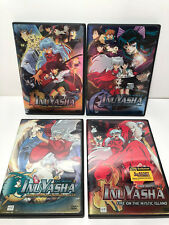 Inu Yasha: The Movie~  LOT OF 4 DVD'S~