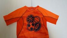 Two New Jumping Beans Boys One Orange & One Gray Short Sleeve Shirts - Size 7X