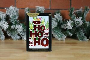 Tom Smith 6 Luxury Handcrafted Christmas Cards with Glitter Detail and envelopes