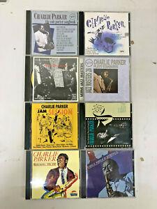 CHARLIE PARKER - Jazz - Lot of 8 CDs - Be-Bop