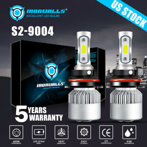 9004 LED Headlight for Dodge Ram 1500 2500 3500 1994 1995 1996 1997-2001 Hi-Low
