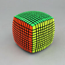 11x11x11 11.7cm Professional Magic Cube Smooth Twist Puzzle Twist Game Toy Black