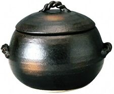 Japanese Clay Rice Cooker (Donabe banko yaki pot) M4806 Japan With Tracking