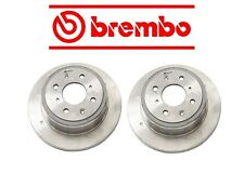 For Acura Integra Honda CRX Set Of 2 Rear Disc Brake Rotors Brembo 42510SE0010