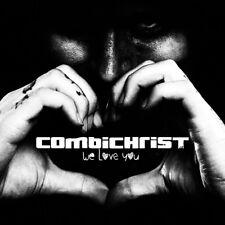 COMBICHRIST - WE LOVE YOU (DOPPELVINYL+CD) 3 VINYL LP + CD NEW+