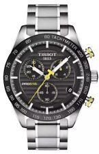 New Tissot PRS 516 Chronograph Black Dial Mens Watch T1004171105100