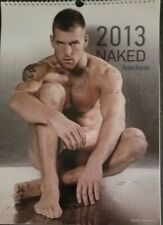 NAKED 2013 CALENDAR BY DYLAN ROSS! LARGE CALENDAR, HARD TO FIND! SEXY MEN!!! HOT