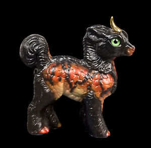 """Windstone Editions """"Danger Noodle"""" Standing Baby Ki-Rin Test Paint #1"""