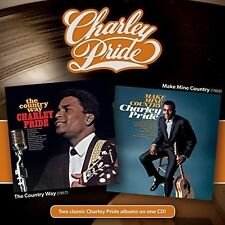 Charley Pride - Country Way + Make Mine Country [New CD]