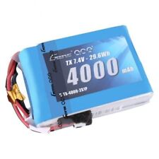 Gens ace 4000mAh 2S 7.4V TX Lipo Battery Spektrum DX9  DX8 Transmitter TURNIGY