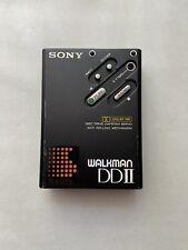 SONY Walkman WM-DDII - Serviced - WM-DD2 Black Dolby Nr Personal Cassette Player