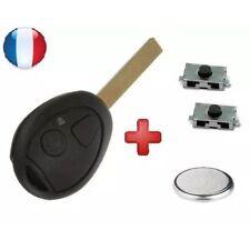Coque+swith Télécommande Plip Bouton Clé Mini Cooper S one cabriolet+PILE clef