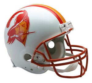 TAMPA BAY BUCCANEERS 1976-1996 Riddell AUTHENTIC Throwback Football Helmet NFL