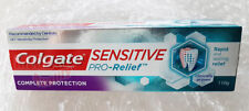 Colgate Sensitive Pro-Relief COMPLETE PROTECTION Fluoride Toothpaste Health 110g