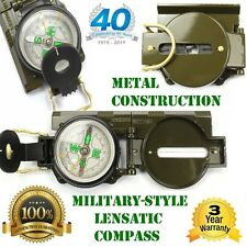 Survival Metal Army-Style Compass Hunting Camping Fishing Hiking Survival Gear