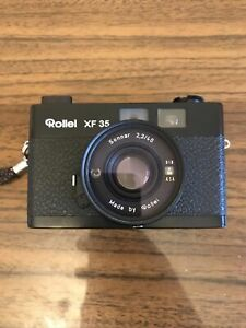 ROLLEI XF 35 WITH 40MM F2.3 SONNAR. Mint Condition/Working