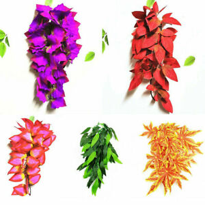 Realistic Jungle Small/Medium/Large Plant Vine Silk Decor Reptile Vivarium