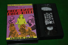 RIDE HARD RIDE WILD   Something Weird Video release VHS