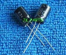10pcs 1000uF 6.3V 105°C Radial Electrolytic Capacitor 8x12mm