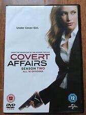 Piper Perabo COVERT AFFAIRS ~ SEASON 2 ~ CIA Spy Thriller Series | 4-Disc UK DVD