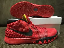 2014 KYRIE IRVING 1 BRIGHT CRIMSON/ UNIVERSITY RED/BLACK/  Sz 12 US
