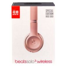 Beats By Dr. Dre Solo 3 Wireless Rose Gold Headphones