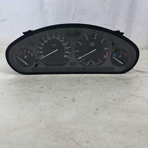 E36 Sedan Instrument Gauge Cluster Panel Speedo Tach BMW 325I OEM 300,XXX K KM