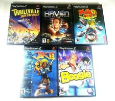 Lot of 5 Sony PS2 games Haven, KAO 2, Boogie, Thrillville, Jak 2