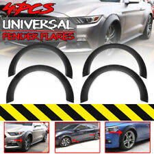 Universal Flexible 60+80mm Car Fender Flares Extra Wide Body Wheel Arches Cover