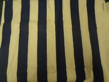 Funky BLUE & WHITE WIDE STRIPE Fabric (70cm x 50cm)