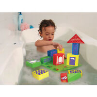FLOATING Foam BLOCKS BASE Pretend CREATIVE PLAY WATER Educational BATH Toy Net