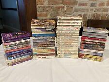 Lot of 61 Vintage Harlequin Romance Books Novels Intrigue American Superromance