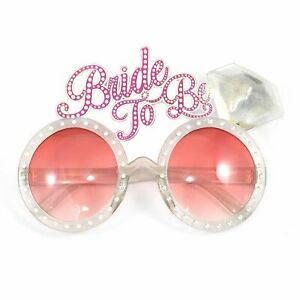 BRIDE TO BE GLASSES HEN DO NIGHT PARTY ACCESSORIES BACHELORETTE