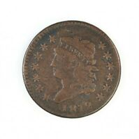 Raw 1812 Classic Head 1C Uncertified Ungraded US Circ Copper Large Cent Coin