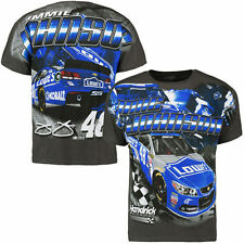 Jimmie Johnson Lowe's Racing Total Print T-Shirt From Checkered Flag - Medium