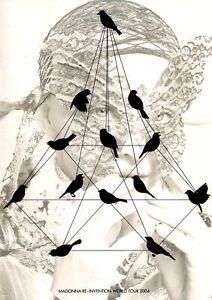 Madonna Re-Invention World Tour 2004 Tour Program Mint Condition