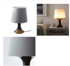 IKEA LAMPAN Tischlampe grau Nachttischlampe Regalleuchte Wohnzimmerleuchte 45cm