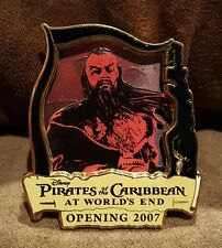 Disney Pin Wdw Pirates of the Caribbean At World's End Opening Day 2007 Beard