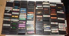 Atari 2600 Video Games You Choose The Games You Want (Labels in Poor Condition)