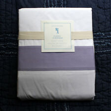 New POTTERY BARN KIDS Classic Duvet Cover queen lavender