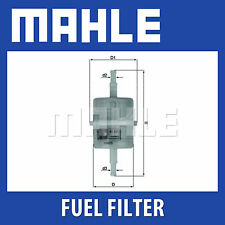 MAHLE Filtro Carburante KL63OF-si adatta a Renault-Genuine PART